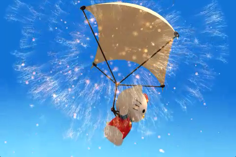 Però fanno il gioco di Hello Kitty che usa un paracadute. Mind blowing.